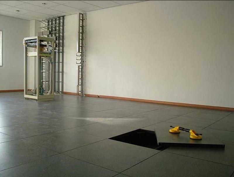 انواع کف کاذب اتاق سرور,کف کاذب تاسیساتی,کف کاذب معماری