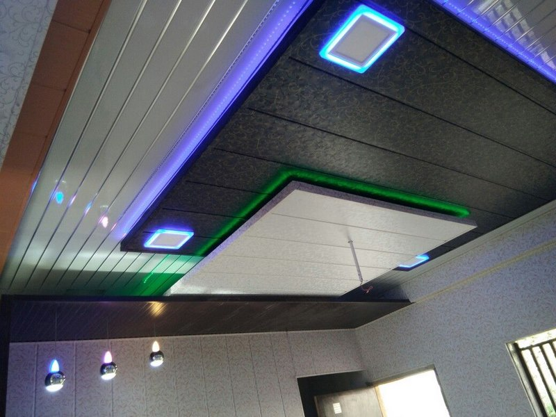 کاربرد کناف در سقف کاذب,کاربردهای سقف کاذب,سقف کاذب پی وی سی