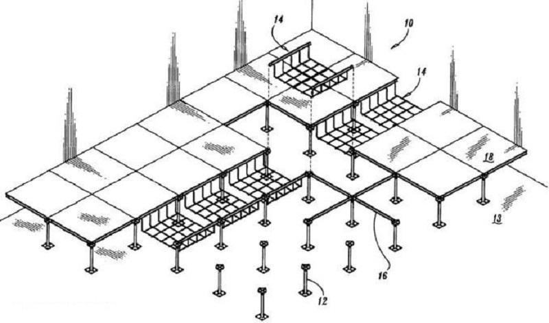 انواع کف کاذب,سقف کاذب,کاربرد کف کاذب