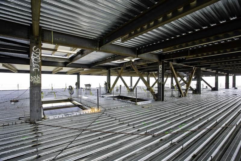 سقف تیرچه کرومیت,سقف دال بتنی,سقف عرشه فولادی