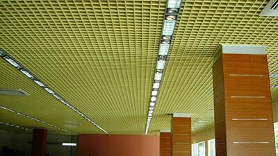 انواع سقف کاذب,سقف کاذب گریلیوم,سقف کاذب گریلیوم پره ای