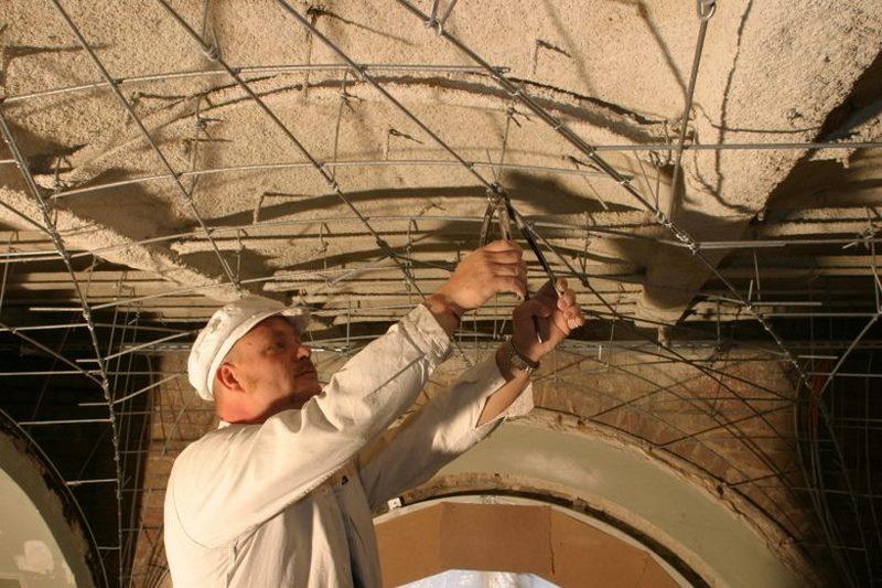 انواع سقف کاذب,سقف رابیتس,سقف کاذب