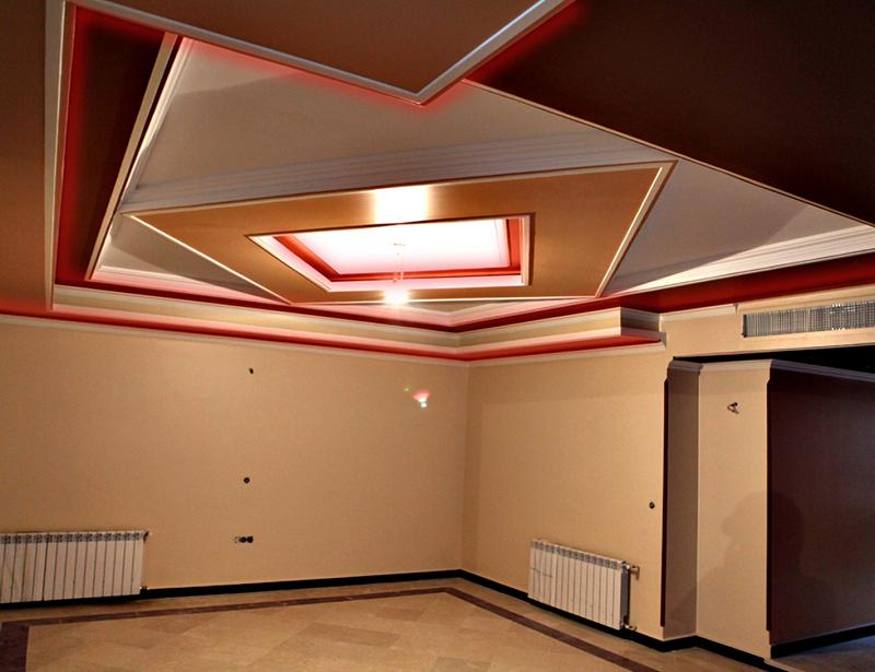 کاربرد سقف کاذب,کاربرد سقف کاذب در ساختمان,کاربرد سقف کاذب در ساختمان سازی