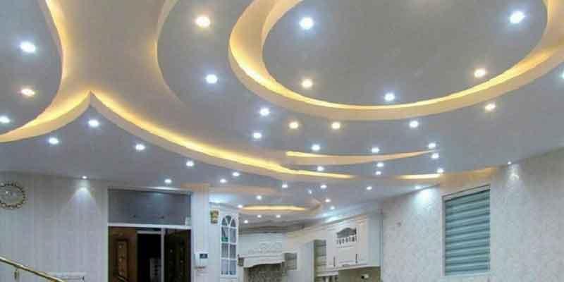 نصب سقف کاذب,نور پردازی سقف کاذب,هزینه نصب سقف کاذب