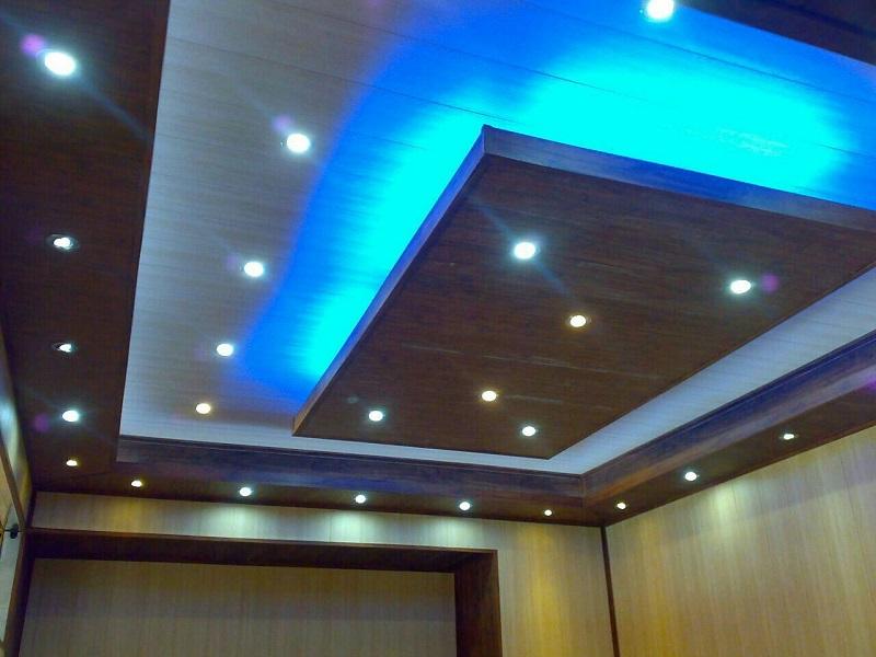 سقف کاذب PVC,طراحی و نصب سقف های کاذب PVC,نحوه نصب سقف های کاذب PVC