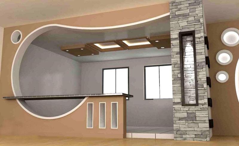 سقف و دیوار کاذب کناف,مزیت دیوار کاذب,مزیت سقف کاذب کناف