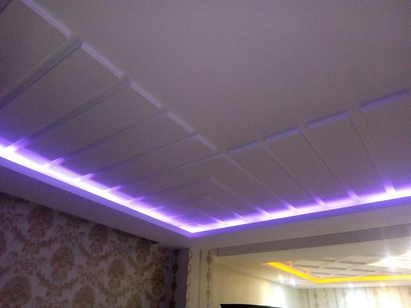 مدل های نور مخفی در سقف,مدل های نور مخفی سقف,نور مخفی در سقف