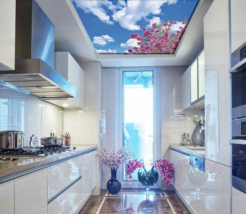 دیزاین سقف آشپزخانه,سقف آشپزخانه,سقف کاذب