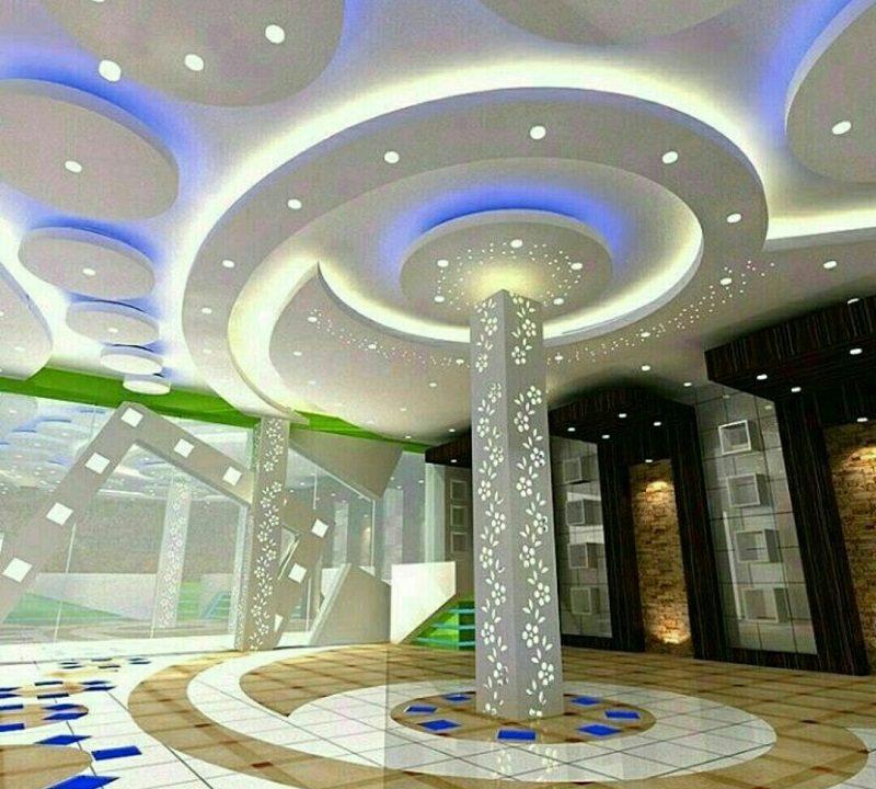 انواع سقف کاذب,سقف کاذب آکوستیک,سقف کاذب آلومینیومی