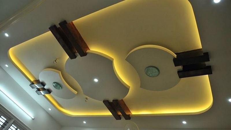 ایده طراحی سقف کاذب,رنگ آمیزی سقف کاذب,سقف کاذب