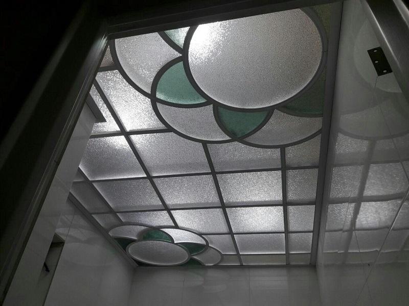 نصب سقف طلقی کاذب,اجرای سقف کاذب طلقی,انواع سقف کاذب طلقی