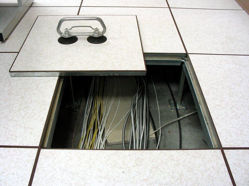 آموزش نصب کف کاذب,طریقه نصب کف کاذب,نحوه نصب کف کاذب