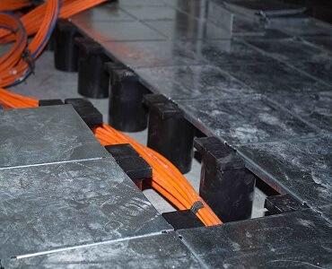 استاندارد اتاق برق,انواع کف کاذب,انواع کف کاذب اتاق برق