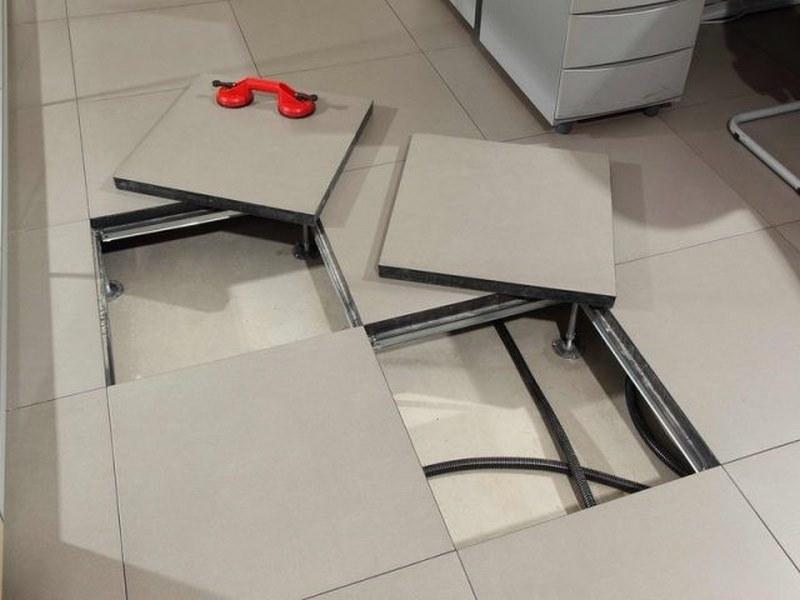 کف کاذب اتاق سرور,استاندارد سازی کف کاذب,استاندارد کف کاذب,