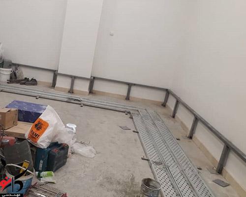 پروژه اجرای کف کاذب هتل رضوی مشهد
