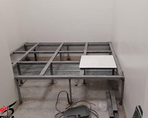 استاندارد سازی اتاق سرور,کف کاذب استاندارد