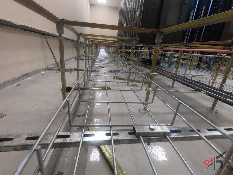 اجزای تشکیل دهنده کف کاذب,کف کاذب,مراحل نصب کف کاذب