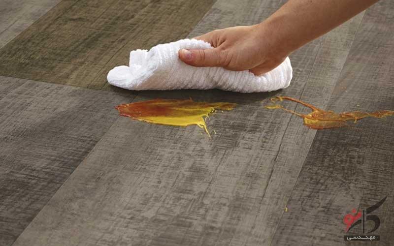 HPL,PVC,بهترین کف پوش ضد خش