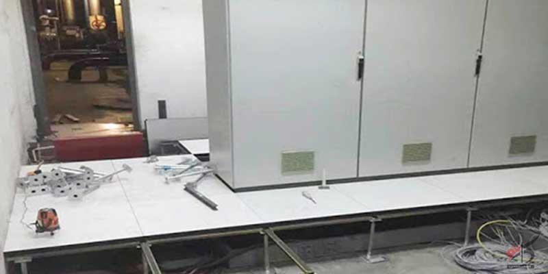 کف کاذب آلومینیومی با روکش HPL,تولید کف کاذب اتاق سرو,خرید کف کاذب اتاق سرور