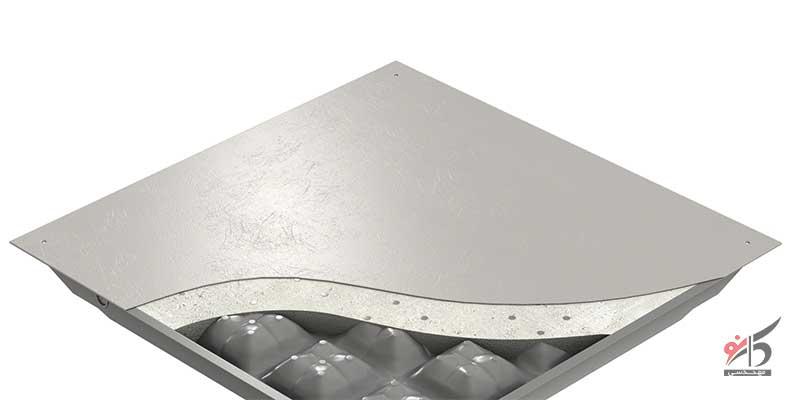 روکش HPL,روکش PVC,قیمت کف کاذب فولادی توپر
